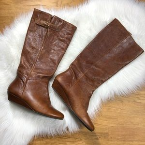 Steven by Steve Madden Intyce leather boot.